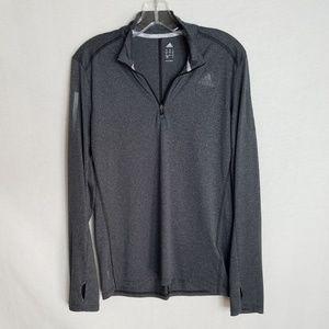 Adidas Climalite Long Sleeve 1/4 Zip Shirt